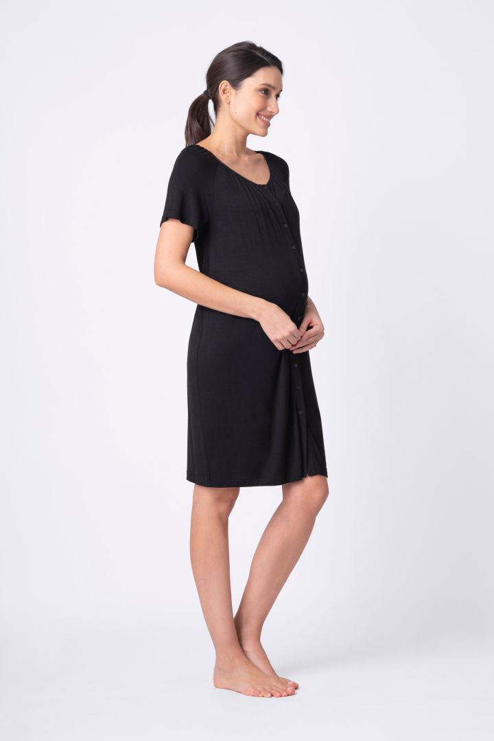 Two pack: Maternity and Nursing Button Down Nighties