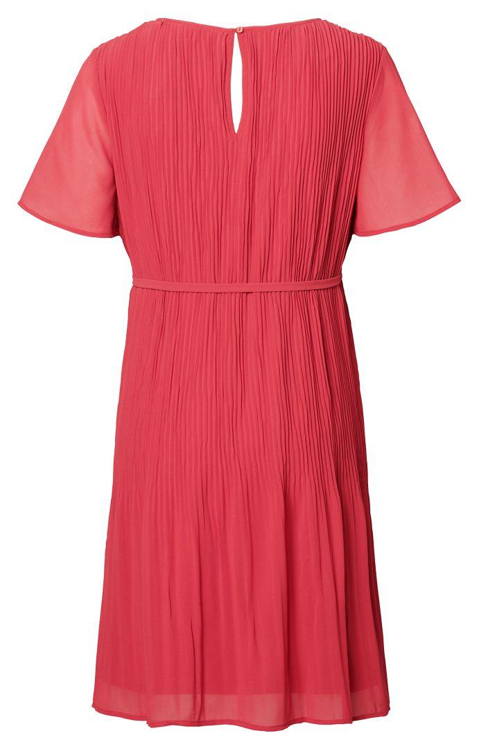 Eco Maternity Dress with Pleats