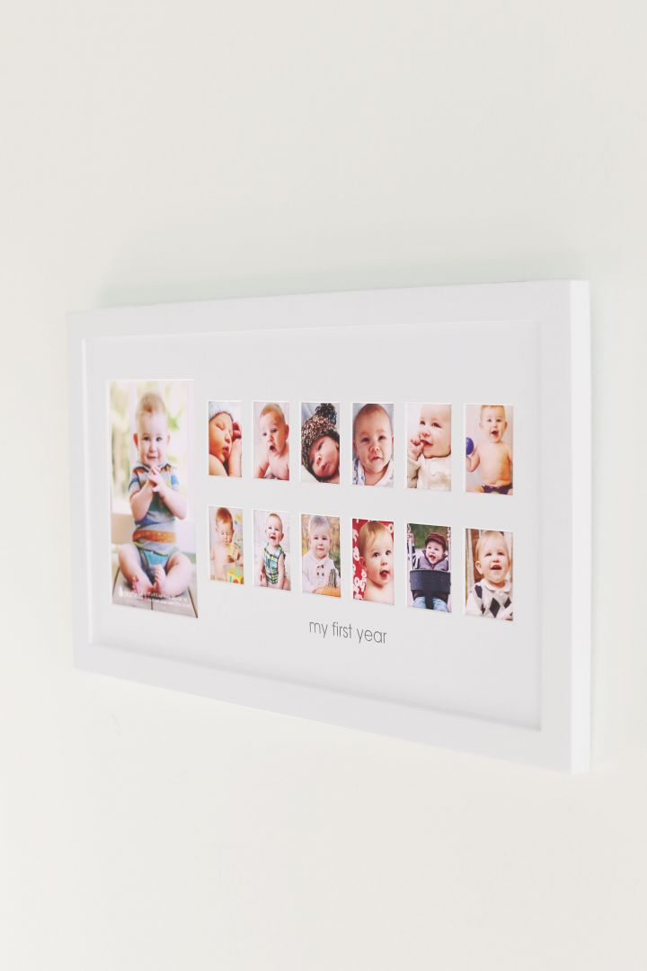 Picture Frame Baby's First Year