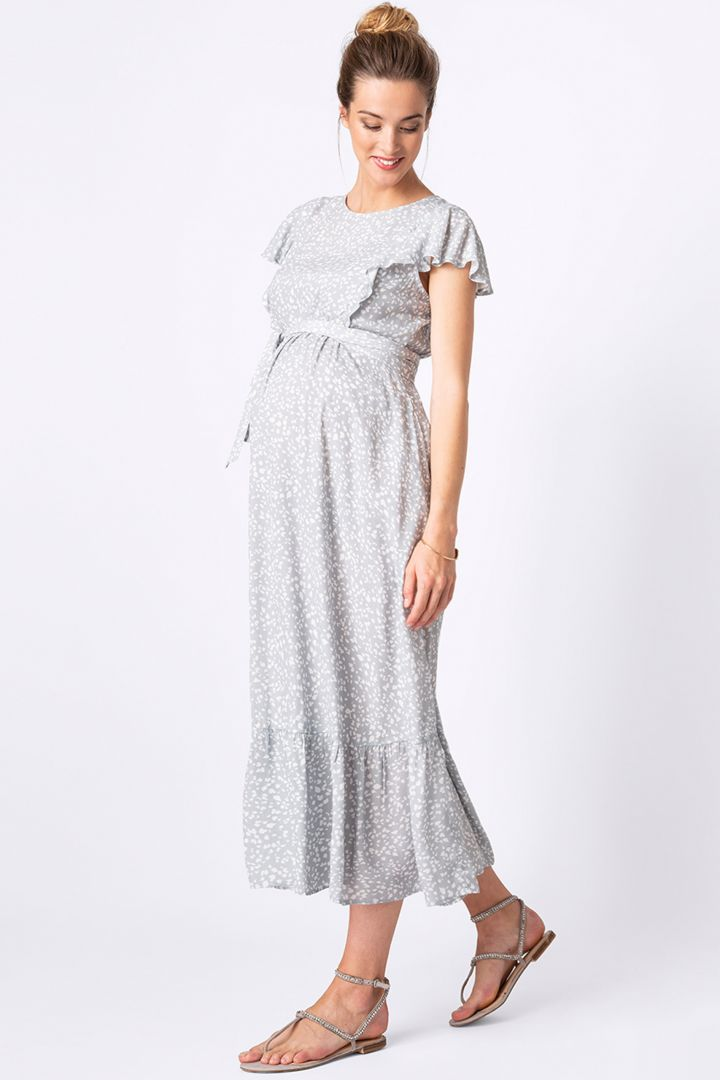 Midi Maternity and Nursing Dress