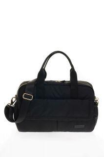 Wickeltasche aus Ripstop Nylon schwarz