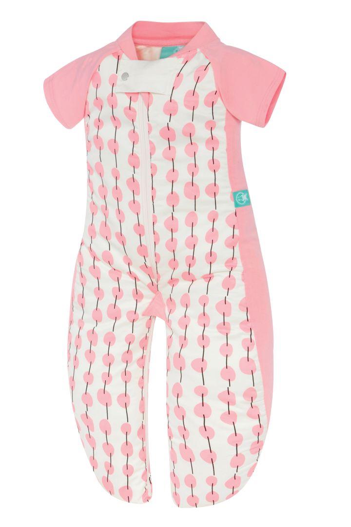 2-in-1 Schlafanzug und Schlafsack aus Bio Baumwolle 1,0 TOG