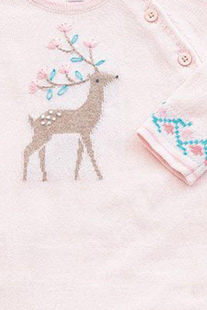Knitted Romper Deer