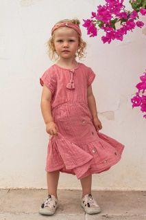 Mini Me Kleid mit Flügelärmeln