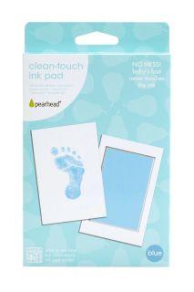 Baby Fußabdruck Set blau