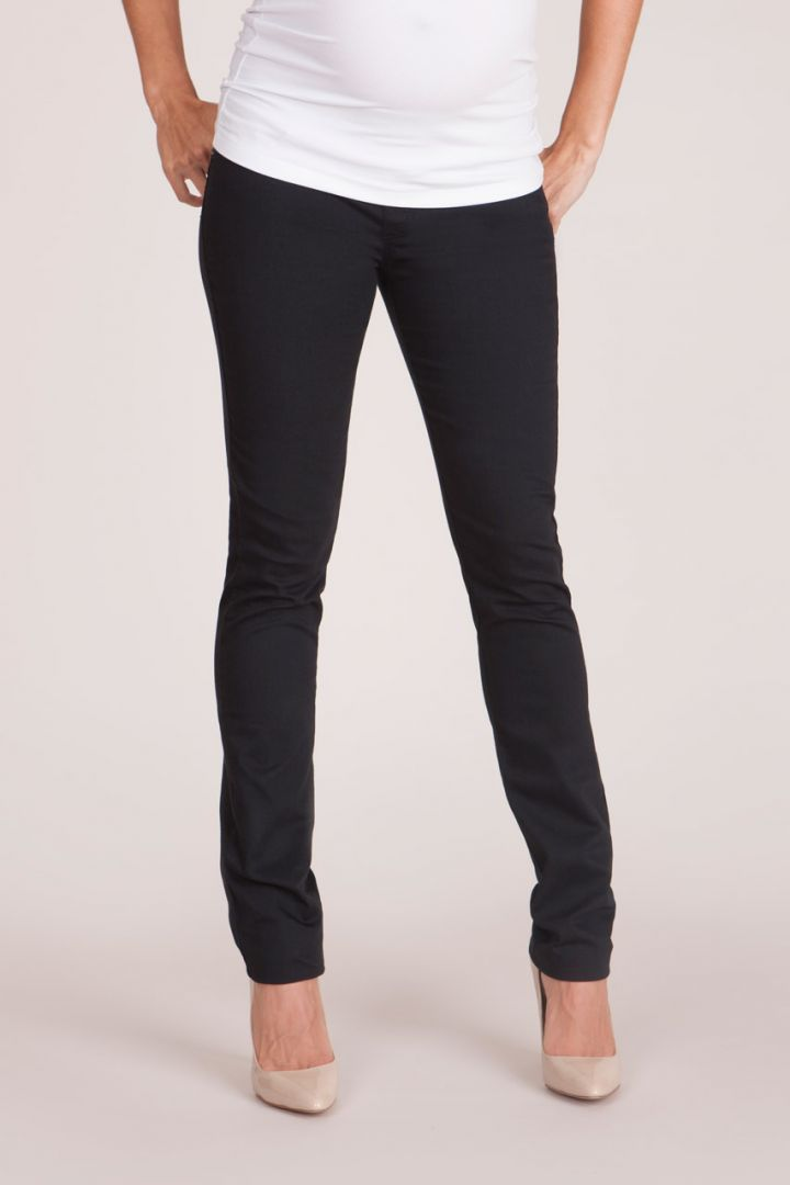 Skinny Maternity Jeans with Underbelly Waistband