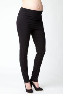 Suzie Straight Leg Hose schwarz