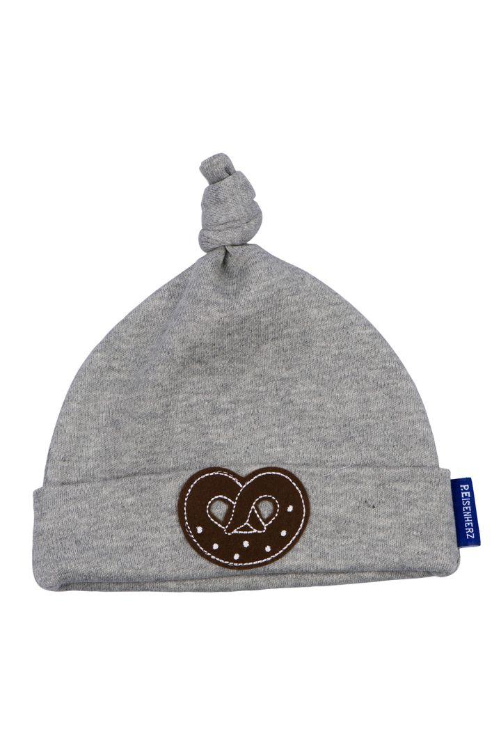 Traditional baby's pretzel cap