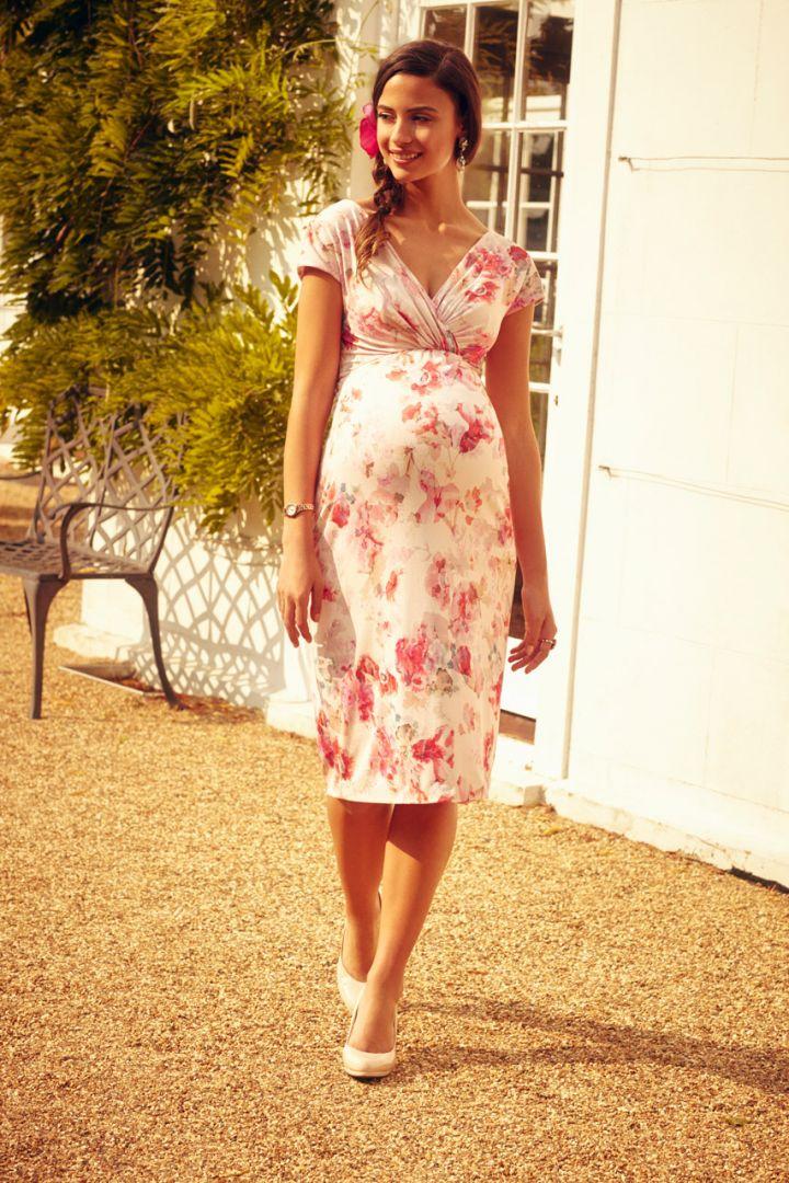 English Rose maternity shift dress