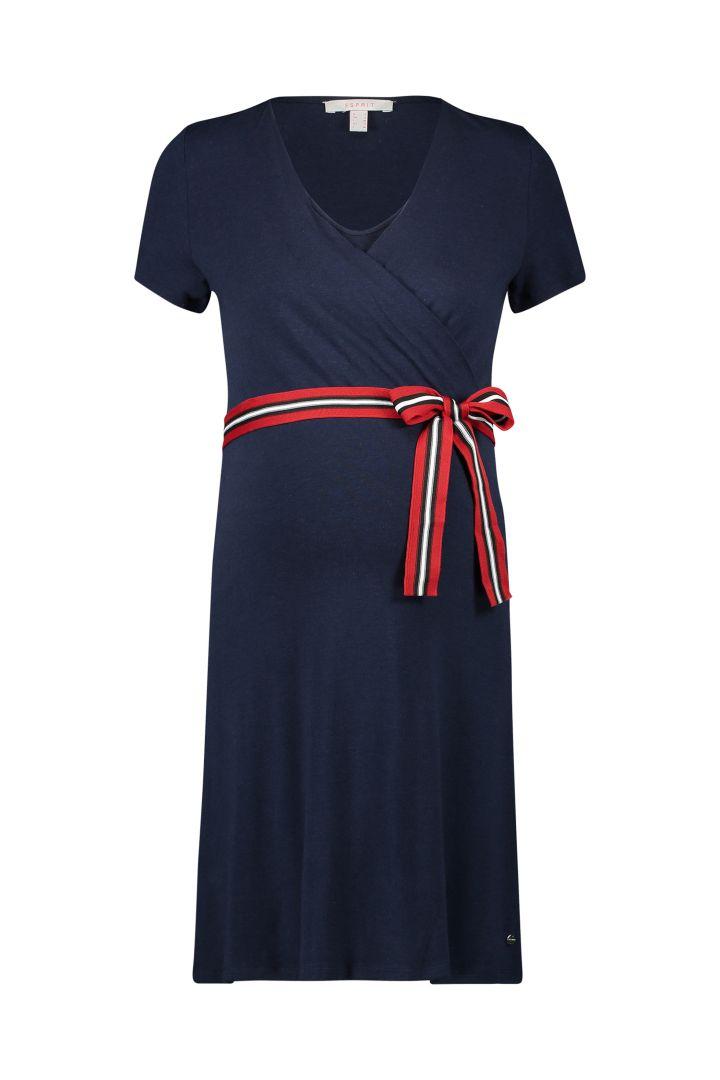 Maternity and Nursing Wrap Dress