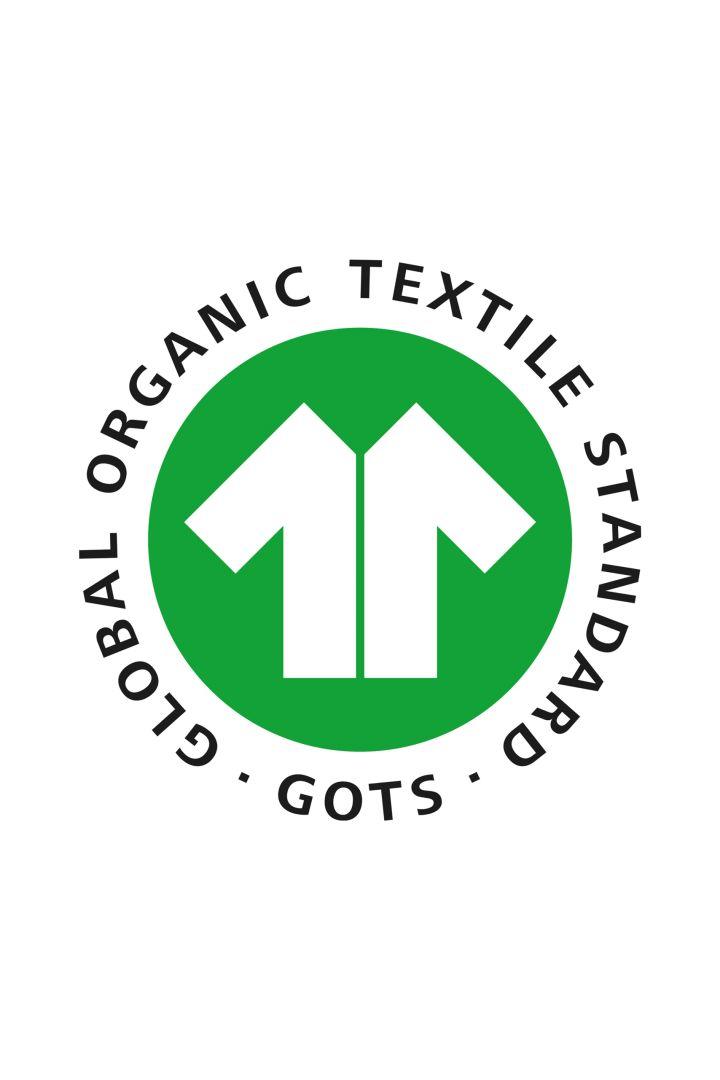 Organic Babyhose mit Herzchen navy