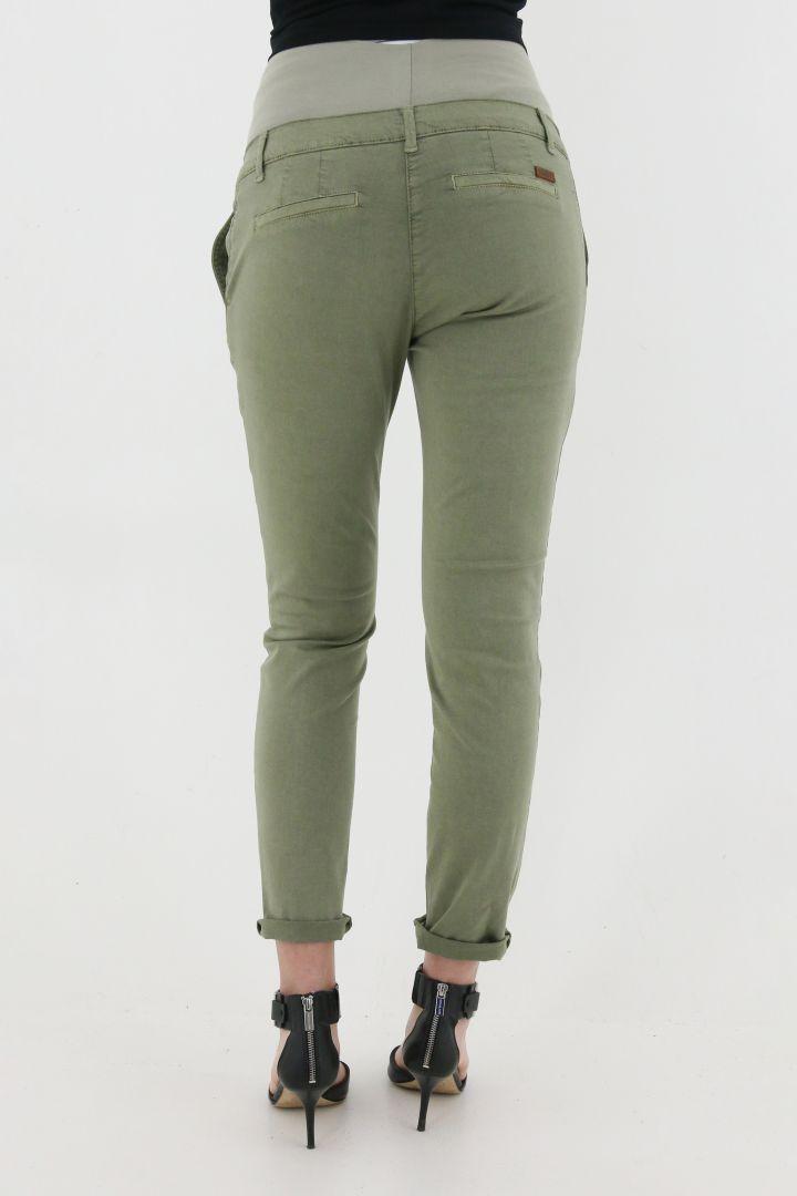 Chino Maternity Trousers khaki