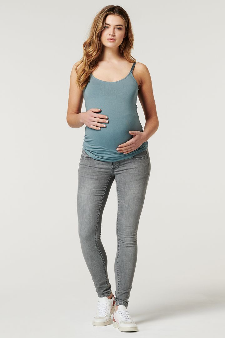Maternity and Nursing Top in Organic Cotton