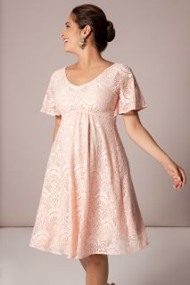 Umstandskleid mit Kimonoärmeln rosa
