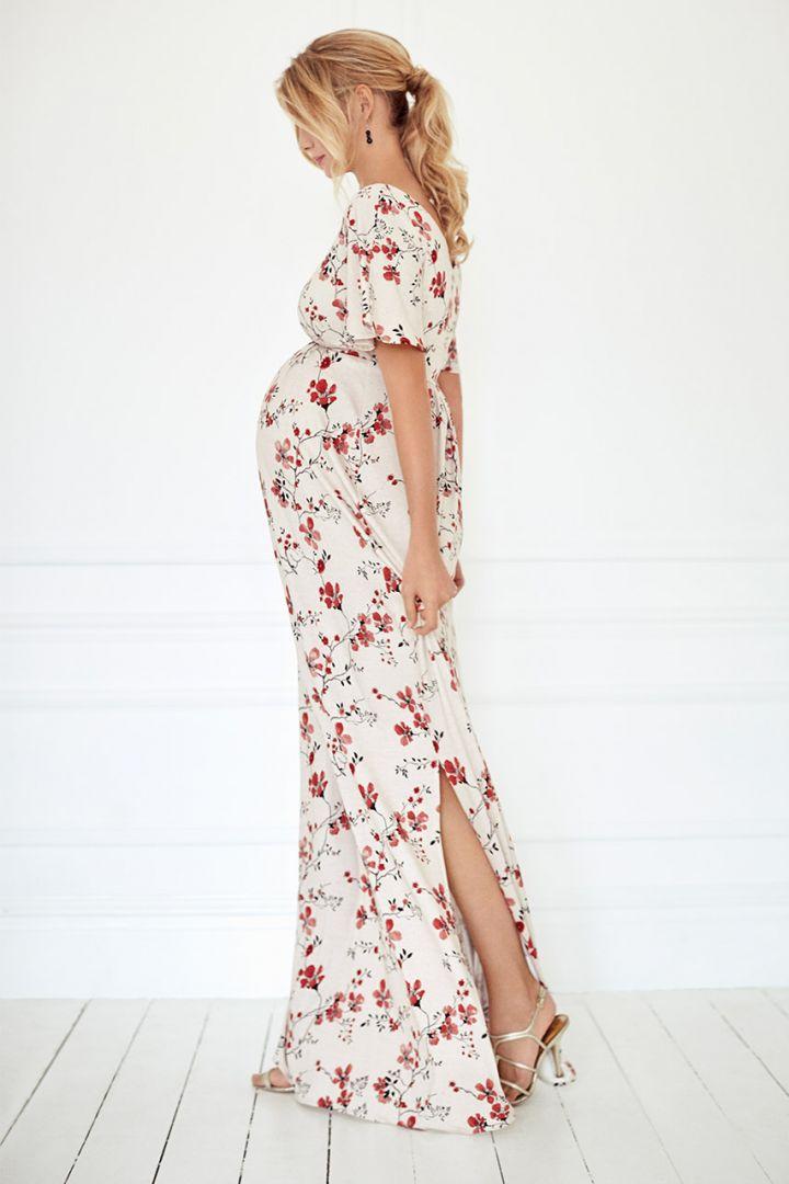 Kimono Maxi Umstandskleid